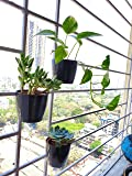 9BLOOMS Magnetic Pots Fro Grills -Black (3)