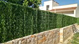 Seto artificial para balcón, valla, en rollo de 1 x 3 metros (3 m²). Abeto muy frondoso: Amazon.es: Bricolaje y herramientas