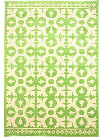 benuta vintage teppich im used-look swing grün 120x170 cm ... - Vintage Wohnzimmer Grun