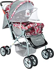 Tiffy & Toffee Baby Stroller Pram Maxtrem (Gray/Orchid)
