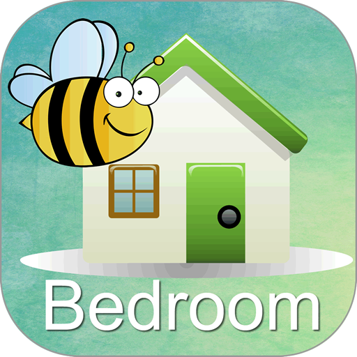 Words Around the HouseTM  - Bedroom -Video Flashcard Player