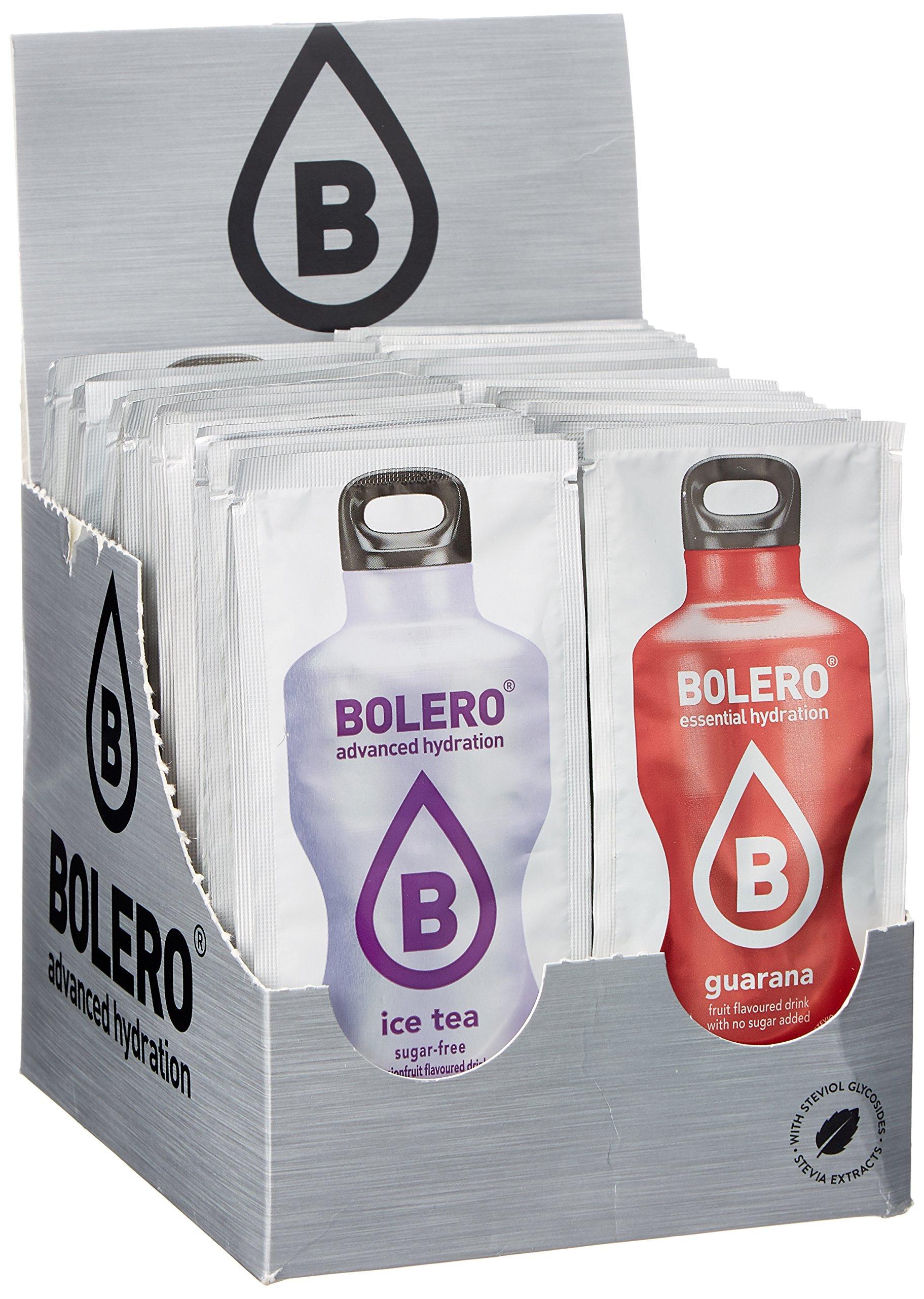 Bolero Drinks - Kennenlernpaket, 56 Sorten, 501 g, für 84 Liter ...