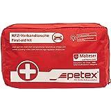 Petex 43930012 verbandtas inhoud volgens DIN 13164, rood