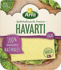 Arla Queso Havarti Light Lonchas, 150g (Refrigerado)