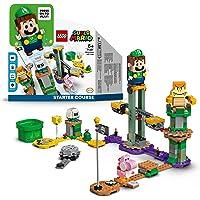 LEGO Super Mario Avventure di Luigi - Starter Pack, Set Giocattolo da Costruzione con Personaggi Interattivi, 71387