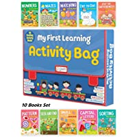 My First Learning Activity Bag - Set of 10 Exciting Activity Books