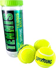 Elan Superyoung Tennis Ball, Junior Pack of 3 (Green)