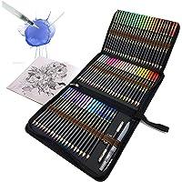 Professionelle Aquarellstifte, 72 Aquarell Buntstifte Set für Kinder und Erwachsene, Wasserlösliche Farbstifte zum…