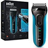 Braun Series 3 ProSkin 3010 s Afeitadora eléctrica hombre, Afeitadora Barba Inalámbrica y Recargable, Wet&Dry, Máquina de Afe