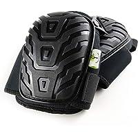 ProfessionalTree Knieschoner - Premium Qualität - Profi-Schutz bei knienden Arbeiten - Kniepolster mit Verstellbaren Schnell-Verschluss Gelkissen Schaumpolster