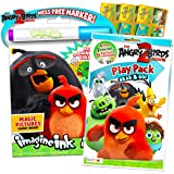 Angry Birds Coloring and Activity Set ~ Angry Birds Coloring Book, Mess-Free Coloring Book, and Mini Angry Birds Coloring Boo