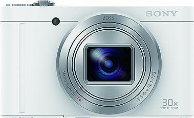 Sony Cybershot DSC-WX500/W 18.2MP Digital Camera (White)