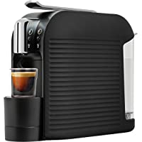 K-fee Wave Kaffeekapselmaschine, 1455 Watt, 1 Liter Wassertank, Farbe High Gloss Black