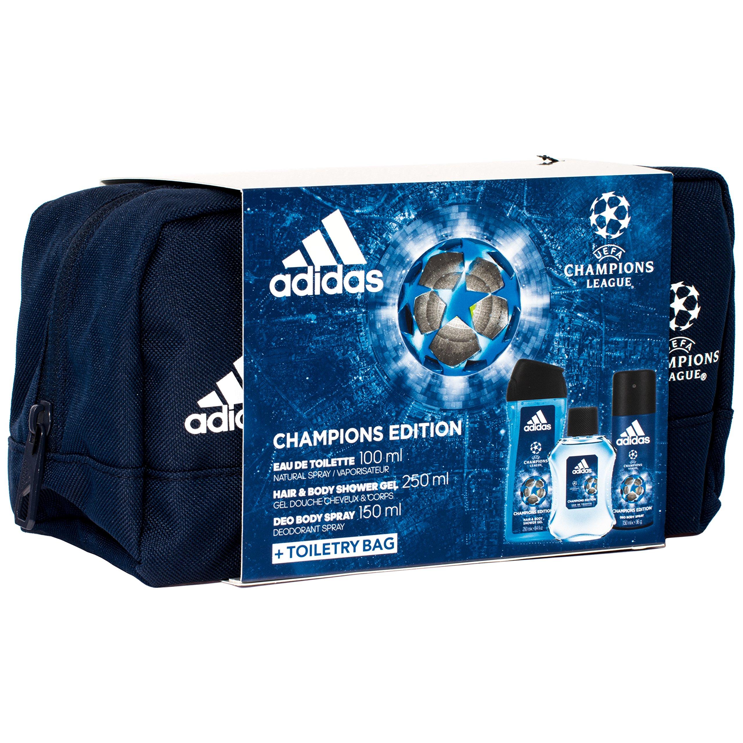 quality design 43d32 e0783 Adidas Champions League Edition Wash Bag Gift Set