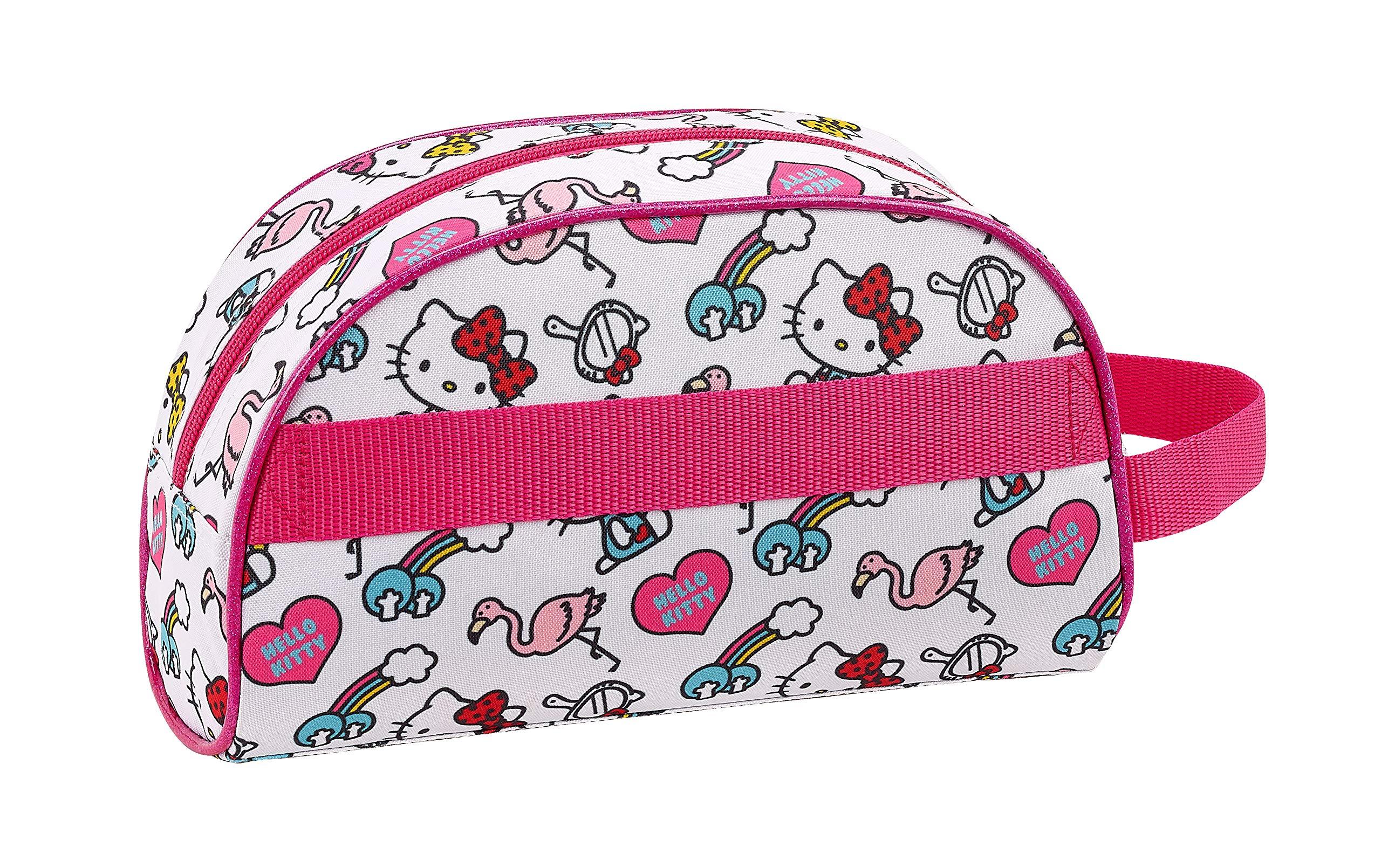 Hello Kitty Neceser, Bolsa de Aseo Adaptable a Carro