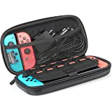 Amazon Basics Carrying case for Nintendo Switch and Accessories - 25.4 x 5.08 x 12.7 cm, Black