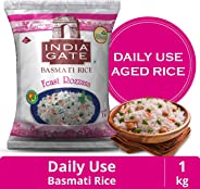 India Gate Basmati Rice Pouch, Feast Rozzana, 1 Kg