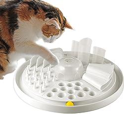 Bayer Design 05005 Edupet Katzenspielzeug Cat Center - intelligentes Futterspiel/Activity Board