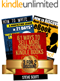 Kindle Publishing Package: How to Discover Best-Selling eBook Ideas + How to Write a Nonfiction eBook in 21 Days + 61…
