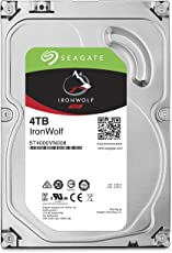 Seagate ST4000VN008 IronWolf 4 TB interne NAS Festplatte (8,89 cm (3,5 Zoll) 64 MB Cache, 5900 RPM, Sata 6 Gb/s)