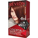Revlon Colorsilk - Tinte, color 48-borgoña, 200 gr: Amazon.es ...