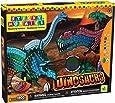 Orb Factory - ORB69957 - Loisirs Créatifs - Sticky Mosaiques Autocollantes aux Numéros - Dinosaures 3D