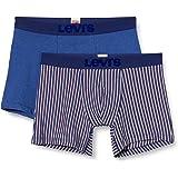 Levi's Popcorn Stripe Men's Boxer Briefs (2 Pack) Slip (Pacco da 2) Uomo
