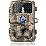 """Campark Caméra de Chasse 14MP 1080P HD Étanche Surveillance Camera avec 3 Mouvement Capteurs Infrarouge Angle 120 °Détection Vision Nocturne 2.4 """"LCD IR pour la Chasse et la sécurité à la Maison"""