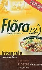 Flora - Riso, Integrale - 5 pezzi da 1 kg [5 kg]