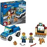 LEGO 60241 City Police Politie hondenpatrouille met auto en hondfiguur voor kinderen van 4 jaar en ouder