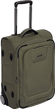 AmazonBasics – Erweiterbarer Weichschalen-Koffer, Handgepäck-Größe, mit TSA-Schloss und Rollen, 56 cm, oliv