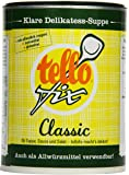 tellofix Classic Klare Delikatess-Suppe - Vielseitige Gemüse Brühe, als Universal-Würzmittel zum Verfeinern einsetzbar - kalorienarm - 1 x 540 g