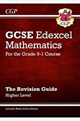 GCSE Maths Edexcel Revision Guide: Higher - for the Grade 9-1 Course (with Online Edition) (CGP GCSE Maths 9-1 Revision) Paperback