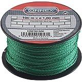 Connex COX781560 metselaarsnoer, 100 m, max. 30 kg, 1 mm, groen
