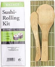 Exzact EX-SM01 Sushi Maker/Bazooka/Roller/Reis-Form/Alles in 1 DIY Sushi Maschine