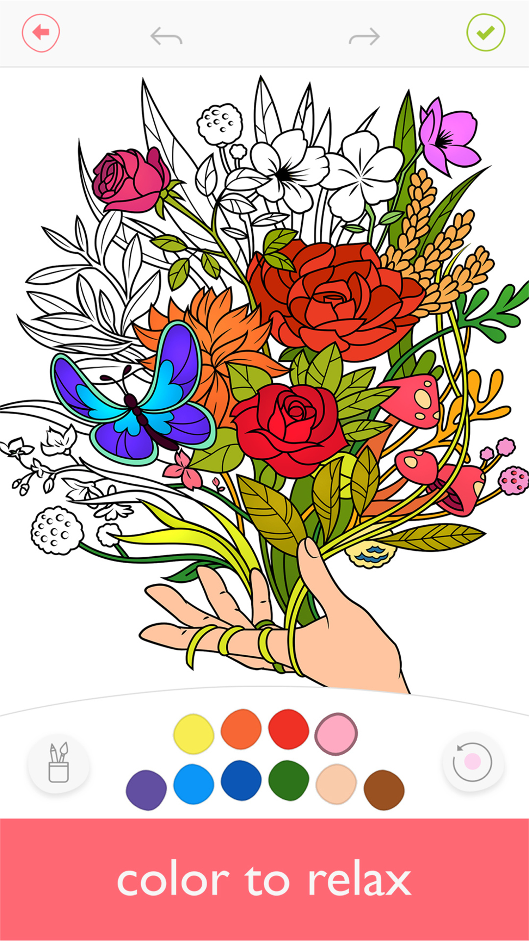 Colorfy Free Colouring Book for Adults Best Colouring