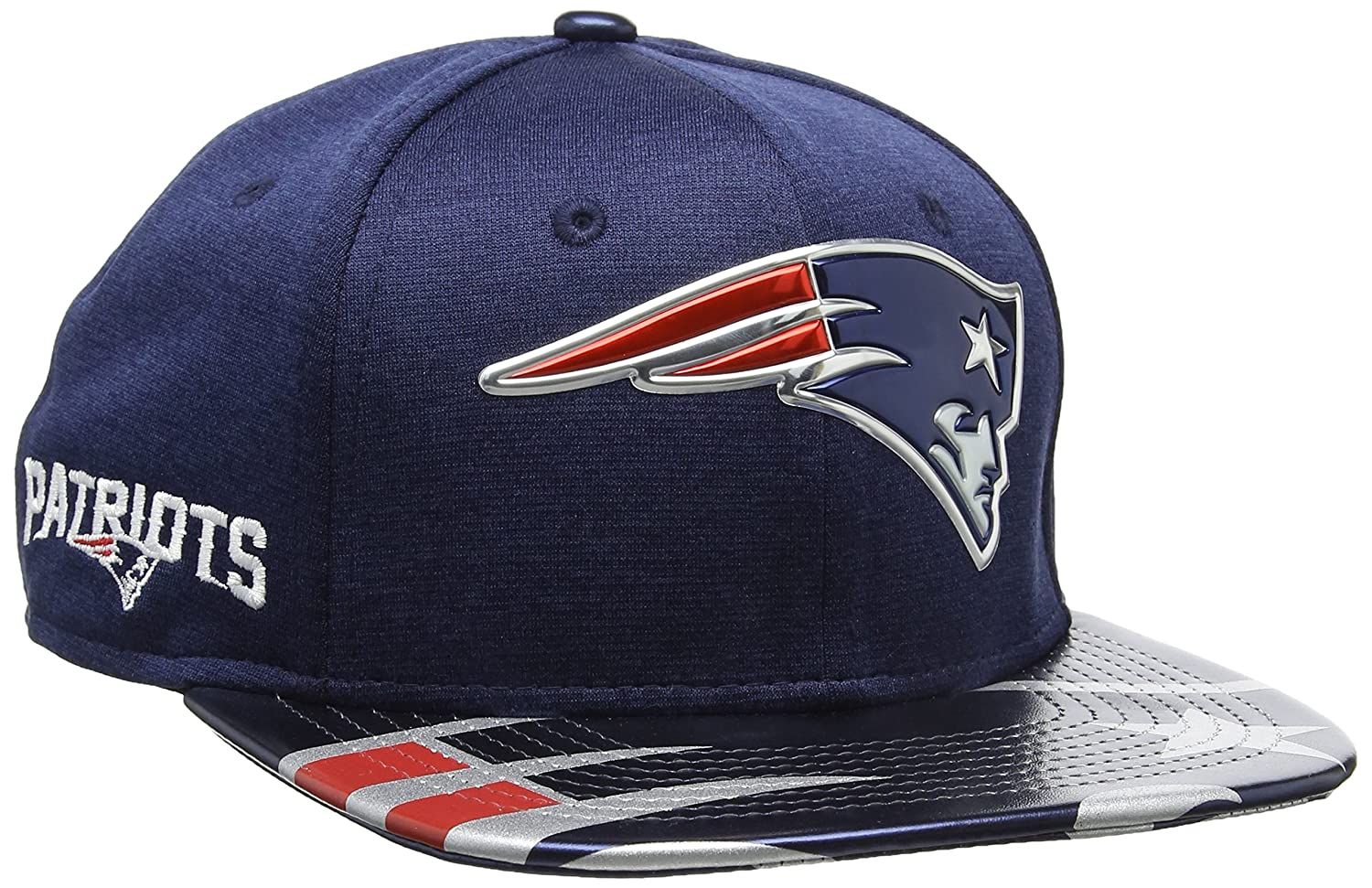 7609bffd6 New Era Men's Nfl 2017 Official on Stage 9fifty New England Patriots  Baseball Cap: Amazon.co.uk: Sports & Outdoors