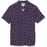 Goodthreads Camisa Hawaiana de Manga Corta con Cuello de Campamento Hombre