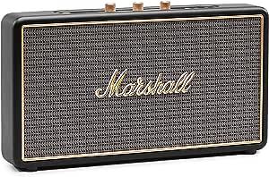 Marshall Stockwell Tragbarer Bluetooth Lautsprecher Schwarz Eu Audio Hifi
