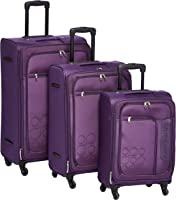 Kamiliant by American Tourister - Boho Softside Spinner Luggage set of 3pcs