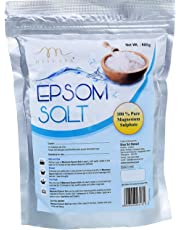Mesmara Epsom Salt (Magnesium Sulphate) For Relaxation Muscle Relief, Relives Aches & Pain 800 gms