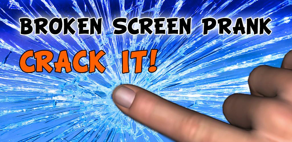 Zoom IMG-1 broken screen prank crack it