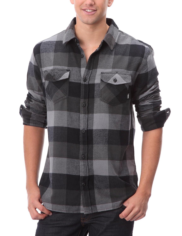 23336131 Vans Men's Box Flannel Slim Fit Long Sleeve Casual Shirt