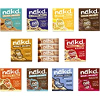 Nakd Fruit & Nut Bars Mixed Case (44 x Bars)