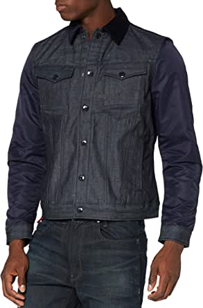 G-STAR RAW Men's Arc 3D Slim JKT Pm Padded Denim Jacket