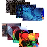 Kurtzy RFID Blocking Credit Card Protector Sleeves (8 Pack) - Contactless Card Security Holders for Men and Women - Prevent I