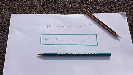 BIC Evolution HB - Lápiz con mina irrompible, 12 unidades: Amazon.es: Oficina y papelería