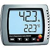 Testo 0560 6082 608-H2 Alarm-hygrometer, vocht-/dauwpunt/temperatuurmeter met led-alarm, inclusief kalibratieprotocol en batt