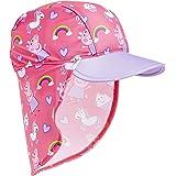 Peppa Pig Gorra de Visera para Niñas, Gorro Bebe Verano con Protector Solar UV, Sombrero Rosa para Playa Piscina con Estampad