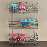 U-S-F BATH ACCESSORIES Multipurpose Stainless Steel Bathroom Shelf/Kitchen Shelf/Bathroom Shelf and Rack/Bathroom Accessories